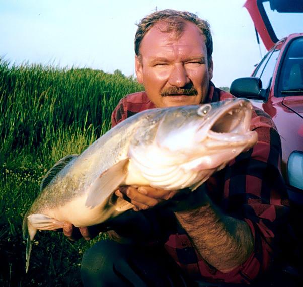 Z kolegą po pracy wyskoczyliśmy na ryby (wobler SinusGT)
